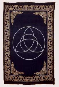 "Tapestry: Triquetra 72""X108"""